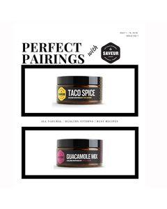 Perfect Pairing I - Taco Spice & Guacamole Mix